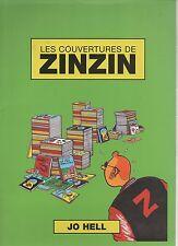 Tintin. Les couvertures de Zinzin. Par Jo Hell. Portfolio 20 planches. 2000.