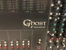 SOUNDCRAFT GHOST LE 32 CHANNEL RECORDING CONSOLE WITH UPGRADED POWER SUPPLY