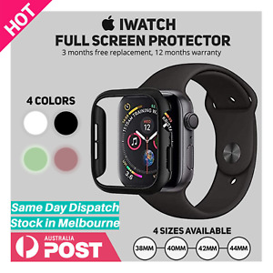 Apple Watch iWatch Series 2 3 4 5 6 SE 38/40/42/44mm Glass Screen Protector Case