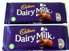 Cadbury 'DAIRY MILK CHOCOLATE'  2 x 200g (7.05oz) Bars. Imported from UK