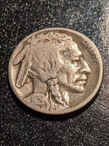 1921-S San Francisco Mint Buffalo Nickel Ch VG
