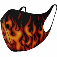 Spiral Direct TRIBAL FLAMES - Protective Face Masks Isolation/Mask/Wrap/Reusable