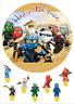 Ninjago Essbar Tortenbild Muffinaufleger Tortenaufleger Party Deko dvd Figur neu