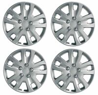 "4 x Wheel Trims Hub Caps 14"" Covers fit Nissan Micra Almera Note Pixo"