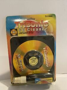 Vintage Trisonic CD Disc Cleaner TS-3106AA New Unopened Free Ship