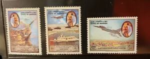Bahrain Aircraft & Aviation Stamps Lot of 4 - MNH  - See Detail for List
