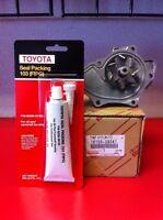 Toyota Camry Rav4 TC Genuine Water Pump 2AZFE 2AZFXE Engines FIPG included H2O