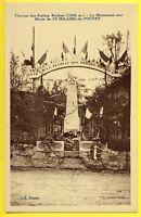 cpa SAINT HILAIRE du TOUVET (Isère) Monument aux MORTS Guerre 1914 1918 UMAC