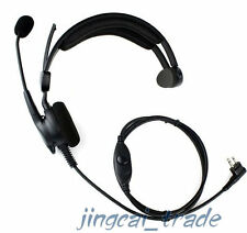 Auriculares sobrecarga Resistente Para Motorola GP300 CP200 TC600 TC700 w. boom mic Hyt