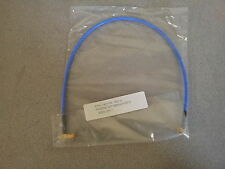 "New Phoenix SMA Male Right Angle RG402 Blue Jacket Jumper Cable 17"" Inches"