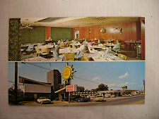 Vintage Photo Postcard Twin View Drake Motel And Restaurant Chattanooga Unused