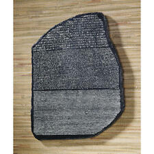 Ancient Stele Rosetta Stone Replica Wall Sculpture
