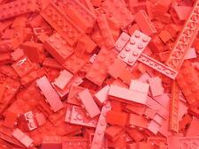 Vrac bulk 1/2 KG briques & plaques LEGO rouge Red TOP QUALITE 0,5 Kilo