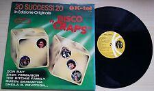 20 SUCCESSI 20 - DISCO CRAPS - LP 33 GIRI ITALY
