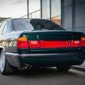 BMW e34 heckblende license plate filler trunk sedan 540i m5
