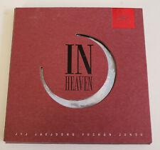 JYJ 1st Album In Heaven Korea Press CD RED Jaejoong JEJUNG / YUCHUN / JUNSU