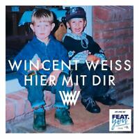 WINCENT WEISS - HIER MIT DIR (2-TRACK)   CD SINGLE NEW