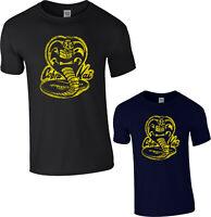 Cobra Kai T-Shirt,The Karate Mr Kesuke Miyagi Marshall Martial Arts Gift Tee Top