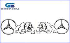 1 Paar MERCEDES Bulldog LKW Aufkleber - Truck Sticker - Decal !!!/!