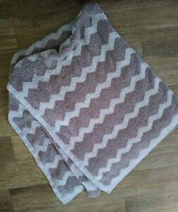 Barefoot Dreams CozyChic Throw Blanket Gray Baby Soft Throw 52x48