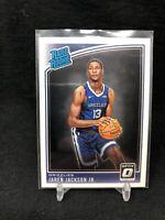 2018-19 Jaren Jackson Jr Optic Rated Rookie #188 Memphis Grizzlies A34