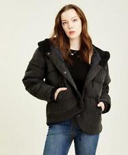 Free People Women's Chill Factor Puffer Jacket (Black, L)