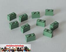 Lego® Basic Stein 1X2 Sandgrün Sand Grün Sand Green 3004 10 Stück NEUWARE
