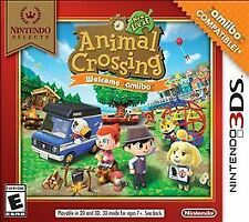 Animal Crossing New Leaf Welcome Amiibo Nintendo 3DS XL 2DS Game w/Case