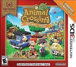 Animal Crossing: New Leaf -- Welcome Amiibo Nintendo Selects (Nintendo 3DS,)