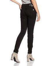 Versace Jeans Skinny Jeans para Mujer Negro Tamaño W31 X L 32 *
