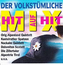 Der volkstümliche Hit auf Hit Mix (1997, Koch, AUT) Zillertaler, Nockalm Quintet