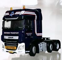 "DAF XF super space cab 6x2 ""Beekman"" WSI truck models"