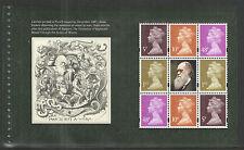 (CD4) GB QEII Stamps CHARLES DARWIN Prestige Booklet Pane ex DX45 2009