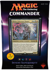 MTG - Commander 2016 - INVENT SUPERIORITY Deck 100 Card NEW