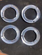 "Hillman Imp 12"" Wheel Embelishers NOS Set Of 4"