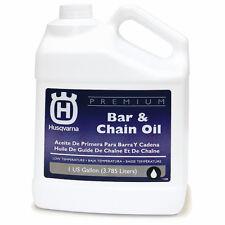 Husqvarna 1 Gallon Conventional Bar & Chain Oil Optimizes Chainsaw Cutting, NEW!