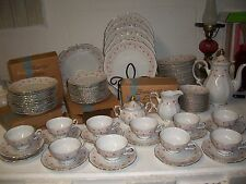 """Mitterteich LADY CLAIRE China GERMANY Bavaria Set of 12 fruit bowls 5 1/4"""""""