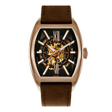 ARIES GOLD AUTOMATIC INFINUM CRUISER ROSE GOLD STAINLESS STEEL G 9018 RG-BK BROW