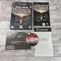 Star Wars: Rogue Leader (Nintendo GameCube GCN, 2001) With Manual Tested Working