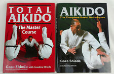 Aikido : The Complete Basic Techniques by Gozo Shioda (2013, Hardcover) Plus 1