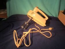 Vintage General Electric GE PINK HAND MIXER 1950s Works ~ 3-Speed