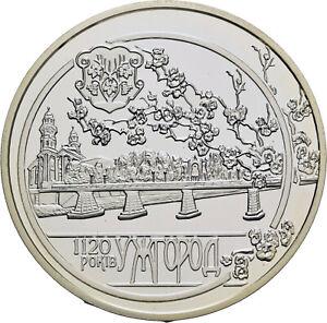 Savoca Coins Ukraine 10 Hrywen 2013 1120 Jahre Uschgorod =BZB75940
