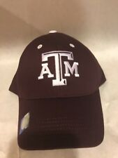 Texas A&M Hat Aggies  Maroon And White Adjustable