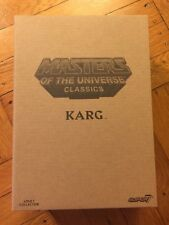 Super7 Mattel MOTUC sealed Classics Collector's Choice Karg Figure IN HAND