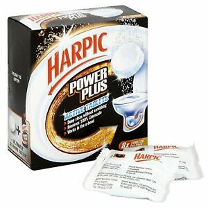 Harpic Power Plus Active 8 x Tablets Deep Clean Toilet Bowl with NO Scrubbing