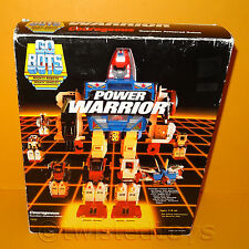 VINTAGE 1985 TONKA GOBOTS POWER WARRIOR COURAGEOUS GUARDIAN ARMORED ROBOT BOXED