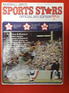 1970 Sports Stars Baseball Issue; Baseball Stamp Album Very Rare