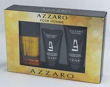 Azzaro Pour Homme SET 30 ml EDT Spray + 30 ml AS Balm + 50 ml Duschgel