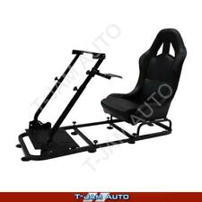 MONZA-X Racing Gaming Simulator Black Race / Rally Seat Suite PC PS4 Xbox ONE