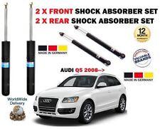 FOR AUDI Q5 TFSI FSI TDI + 4x4 2008-> 2 X FRONT + 2 x REAR SHOCK ABSORBER SET